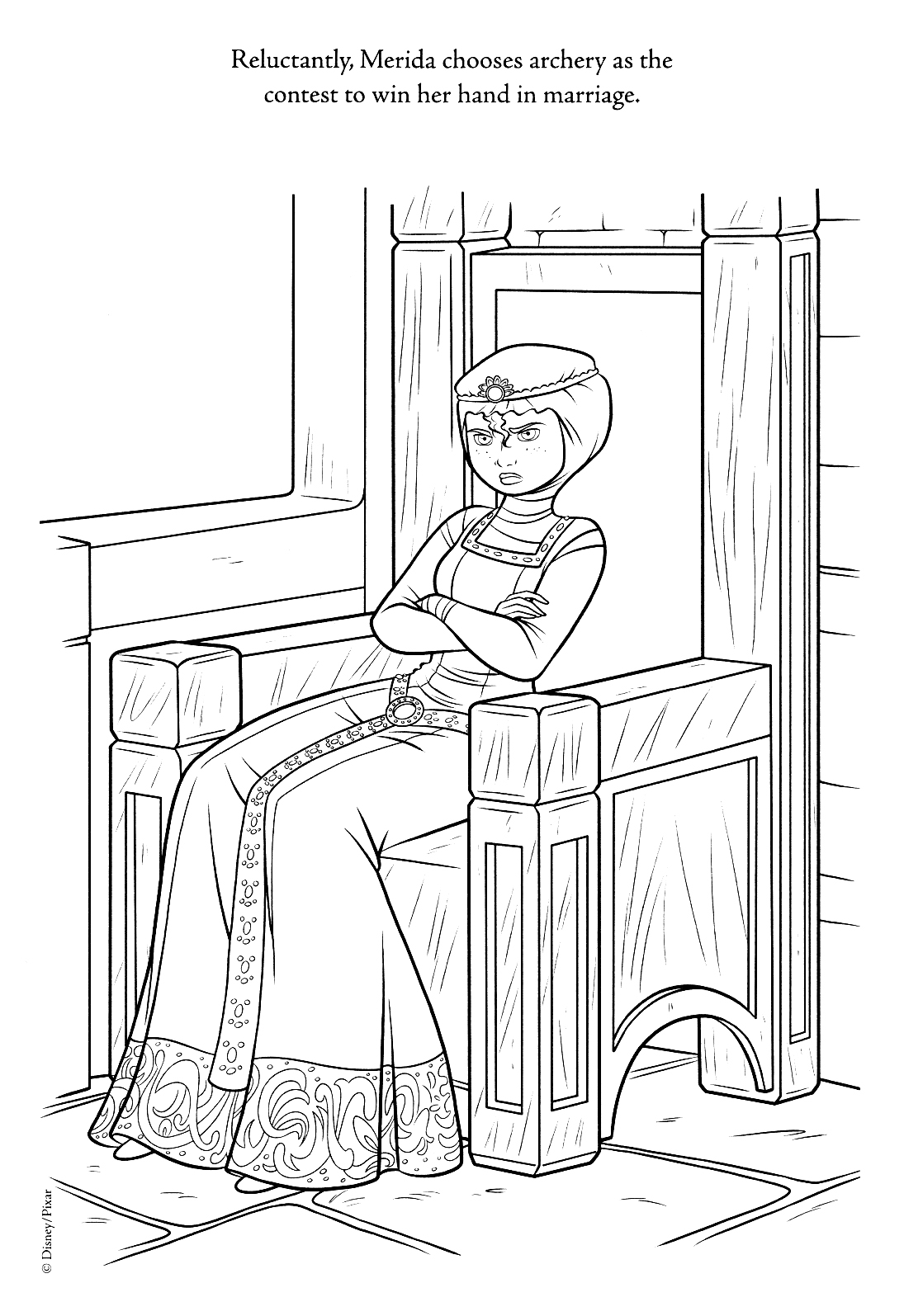 Brave New Coloring Pages Brave Photo 31088952 Fanpop