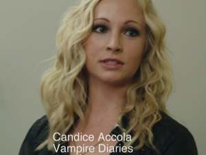 Candice for MTV's 'After Hours' Actors anonymous group.