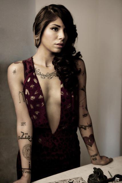 excessive tattooos