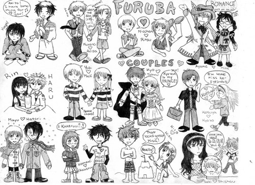 Fruits Basket chibi Couples
