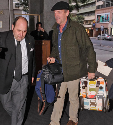 Hugh Laurie Arrive in Buenos Aires - 06.06.2012