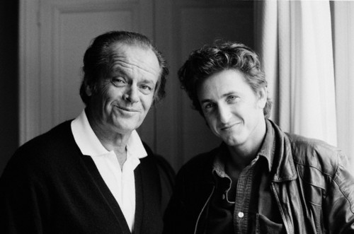 Jack Nicholson and Sean Penn
