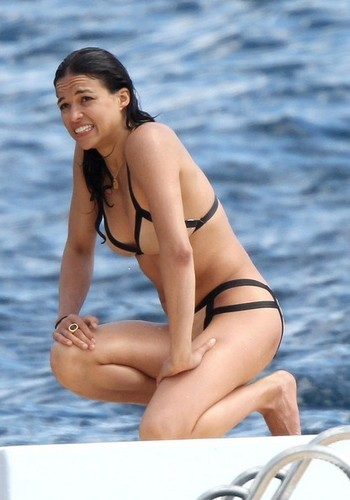 Michelle - Goes for a Swim, May 23, 2012