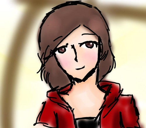 My friend drew an amazing picture of me~