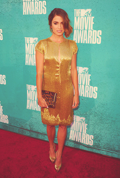 Nikki Reed - mtv Movie Awards 2012