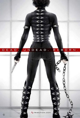 Official Resident Evil Retribution Poster