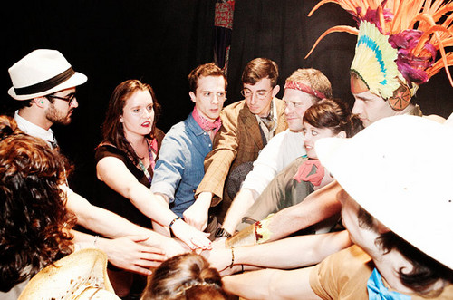 Team StarKid With Darren Criss: A 日 in the Life in 写真