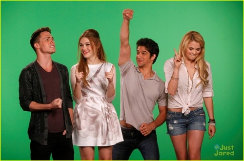 Teen Wolf Cast visit MTV's 10 on Top