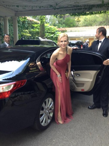 """Heading to The Paperboy premiere at Cannes!"""