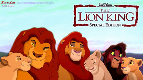All Lion King 1 and 2 Family together HD