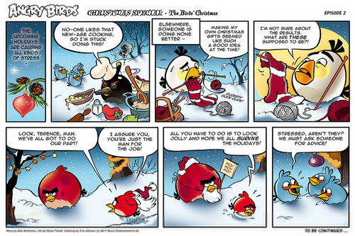 Angry Birds Comic  Seasons Christmas part 2