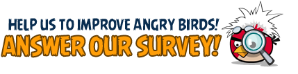 Angry Birds Friends Survey