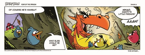 Angry Birds Seasons Dragon Comic part 10