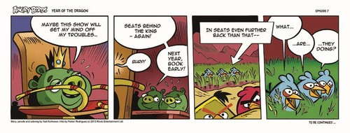 Angry Birds Seasons Dragon Comic part 7