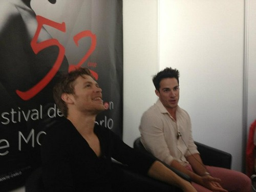 Joseph morgan & Michael Trevino at the 52nd Monte Carlo TV Festival