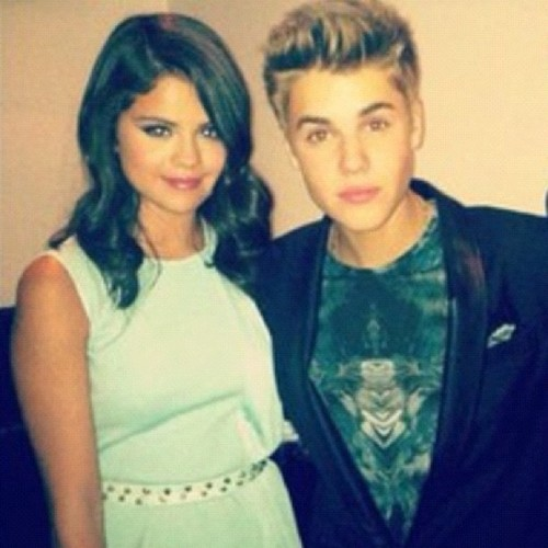 Justin Bieber and Selena Gomez out in Hollywood