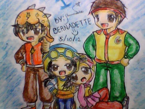 My fã art of Boboi Boy and his friends