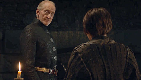 Image result for arya and tywin