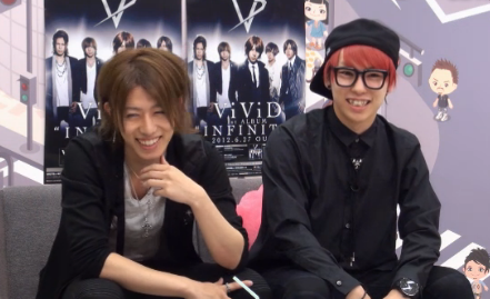 (June 25th) Shin and Ko-ki in Ameba Studio LIVE tunjuk 「ワタ@アメ!」