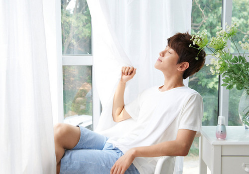 "Baek Hyun for ""The Face Shop"""