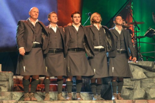 Celtic Thunder toon #2 in Atlantic City