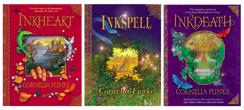 favorit Book Series - Inkheart Trilogy