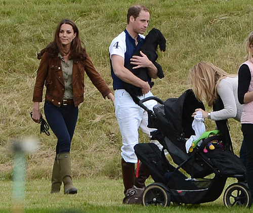 Kate and Wills at the Polo