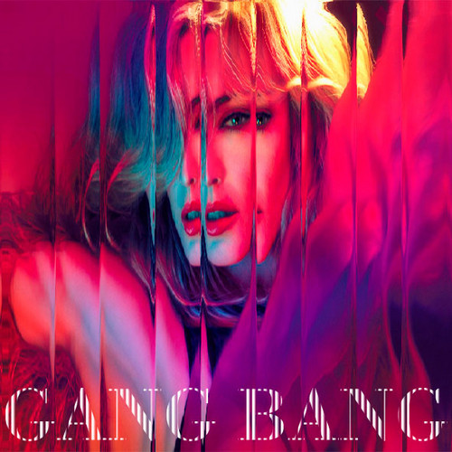 麦当娜 - Gang Bang (CD Single) Fanmade