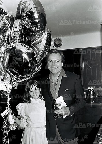 Natasha and RJ at his 53rd birthday party in 1983