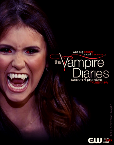 The vampire diaries season 4 promo is this elena as a vampire