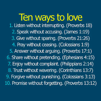 Ways to love