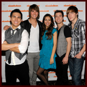 big time rush and tori