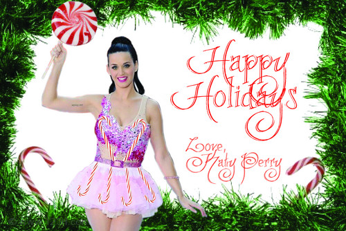 katy perry christmas