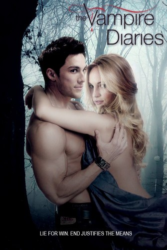 the vampire diaries season 4 poster caroline and tyler