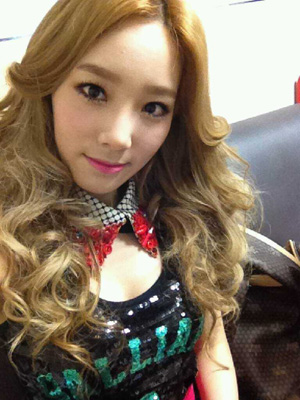 [SNSD]Selca & Message @ Japan Mobile Fansite
