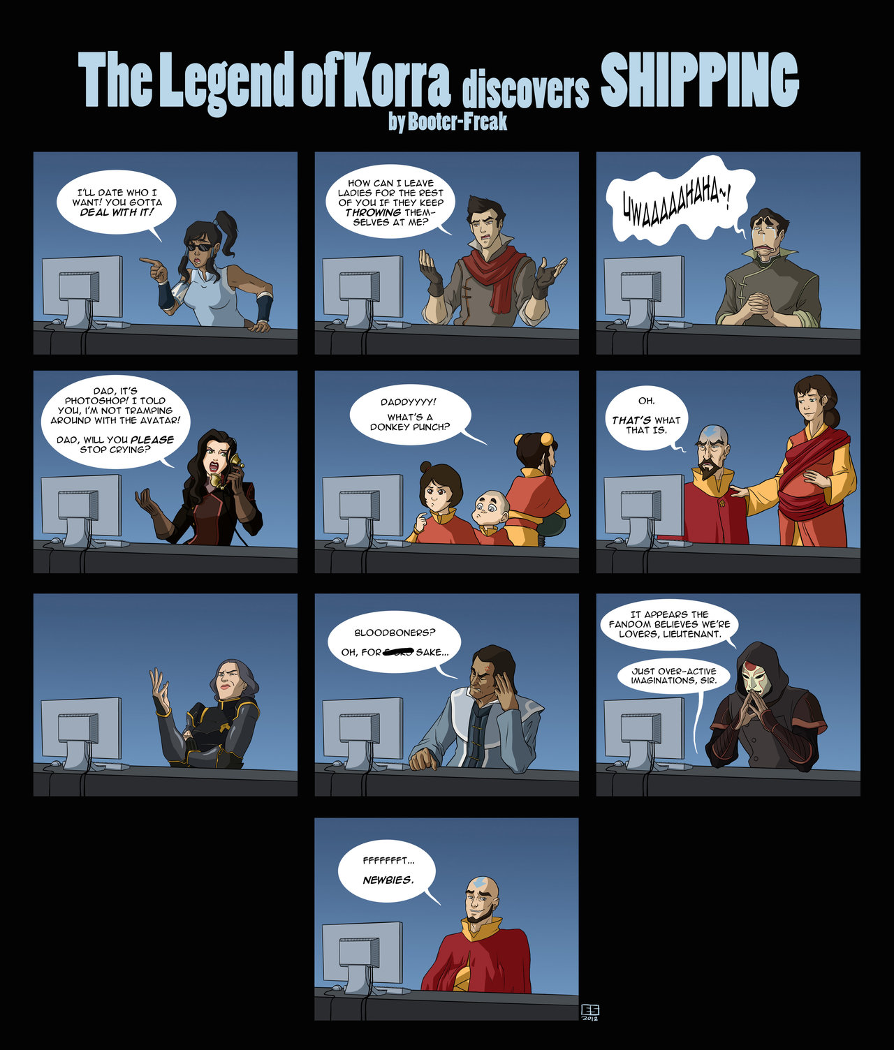 Avatar: LOK Discovers Shipping!