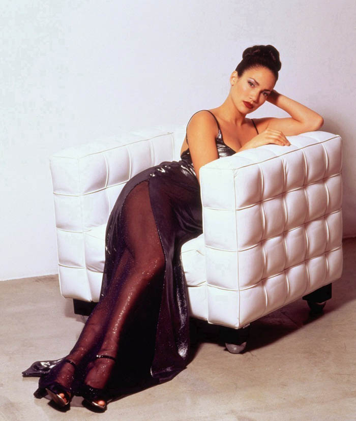 Jennifer Lopez as Selena (Latina magazine 1997)