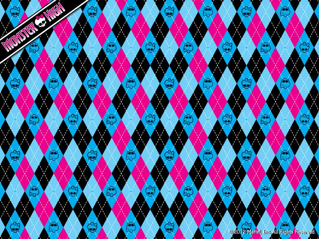 Monster High Argyle 壁紙 1024x768 モンスター ハイ 壁紙