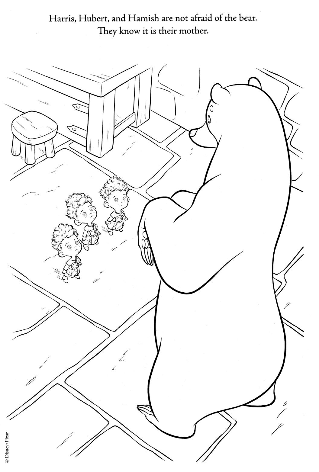 New Brave coloring pages (A bit spoiler)