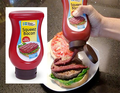 OMFG Squeezable Bacon!