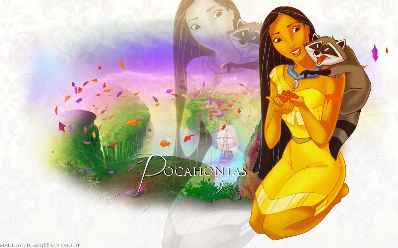 Pocahontas Free Printable Images, Backgrounds or Papers.