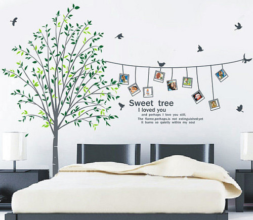 Sweet Home I Love You Photo Frame Wall Sticker