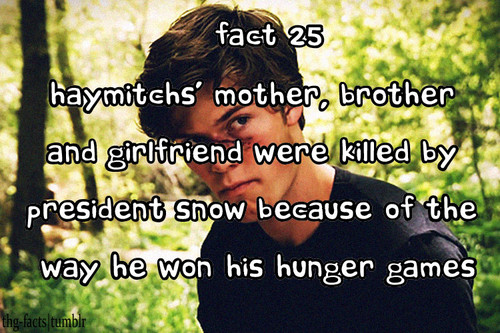 The Hunger Games facts 21-40