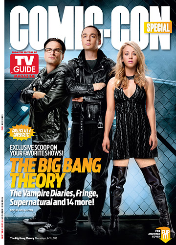 The big bang theory COMIC-CON TV GUIDE 2012