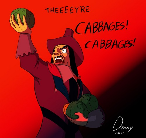 Theeeey're Cabbages! Cabbages!