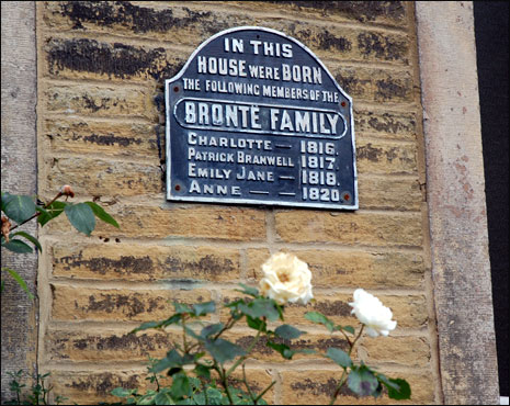 Bronte Family Plaque