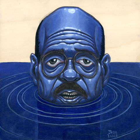 """I'm Afraid I Just Blue Myself"" by Jesse Riggle"