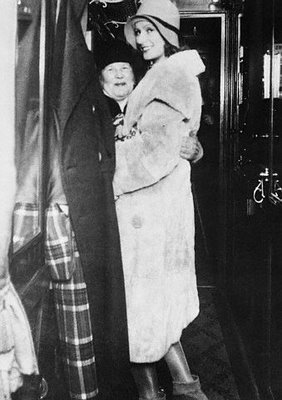 Greta Garbo And Her Mother