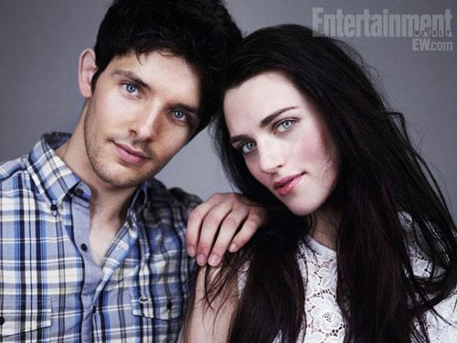 Colin and Katie Entertainment Weekly