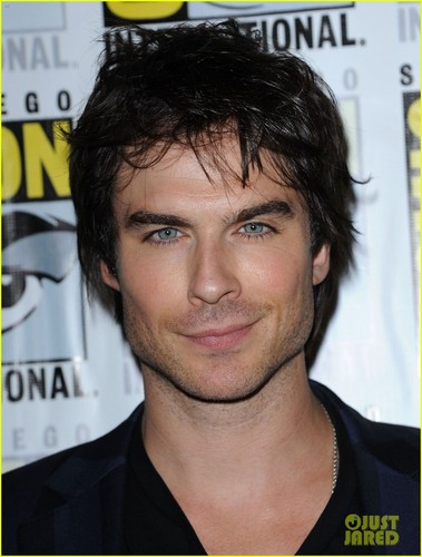 Ian at comic con